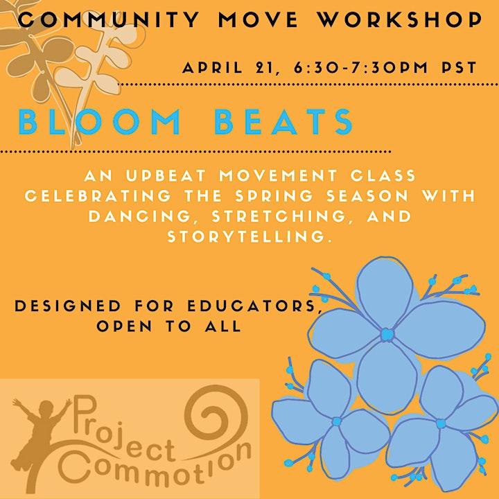 Community Move Workshop: Bloom Beats image