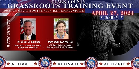 REPUBLICAN GRASS ROOTS TRAINING EVENT tickets