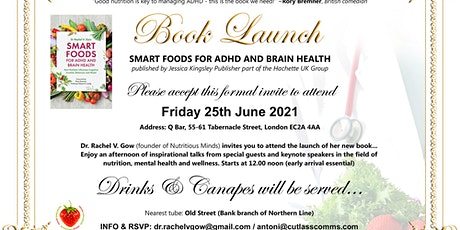 Smart Foods for ADHD and Brain Health: Book Launch tickets