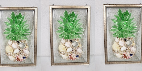 Pineapple Resin Frame Virtual Workshop tickets