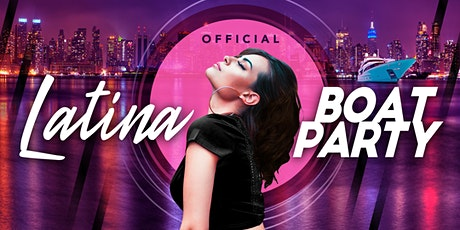#1 Official LATINA BRUNCH Party Yacht Cruise: Saturday Fiesta in NYC tickets