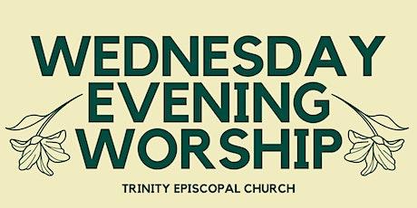 Wednesday Evening Worship tickets