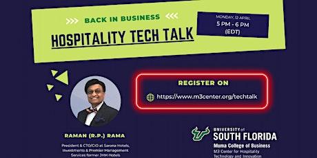 USF Hospitality Tech Talk: RP Rama tickets