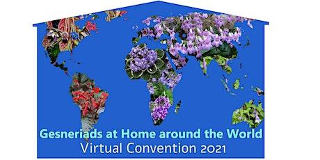 Gesneriad Society Virtual Convention 2021 tickets