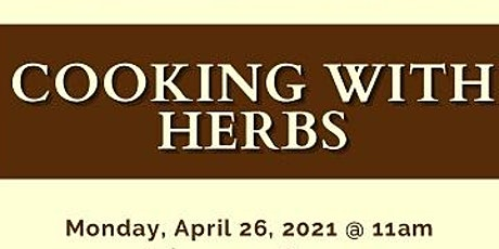 Cooking Healthy with Herbs tickets