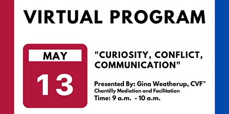 Curiosity, Conflict, Communication tickets