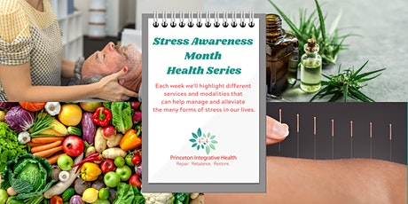 Stress Awareness Month Health Series tickets