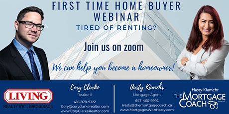 First Time Home Buyer Webinar- Toronto Ontario tickets