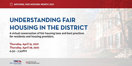 OHR Fair Housing Workshop #2 tickets
