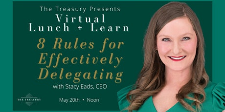 Virtual Lunch + Learn with Stacy Eads tickets
