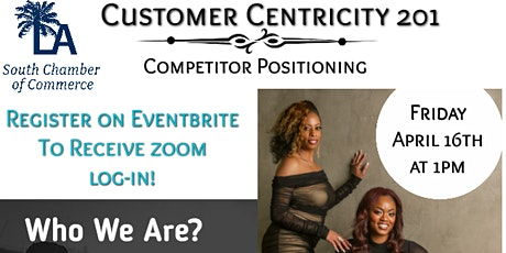 CUSTOMER CENTRICITY 201 - COMPETITOR POSITIONING tickets