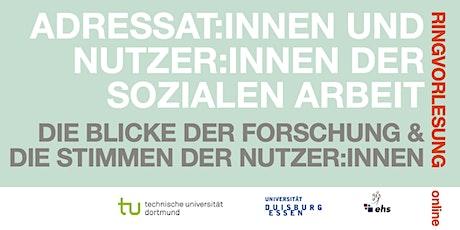 Adressat:innen und Nutzer:innen der Sozialen Arbeit Tickets