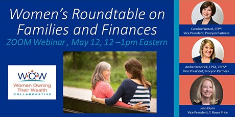 WOW Collaborative: Women's Roundtable on Families and Finances tickets