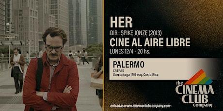 CINE AL AIRE LIBRE - HER (2013) - Lunes 12/4 - 19HS entradas