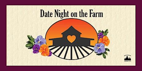 Sun May 16th Date Night on the Farm Night #1  {Chef Vaughn Good} BoysGrow tickets
