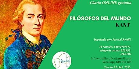 Filósofos del mundo: Kant Tickets