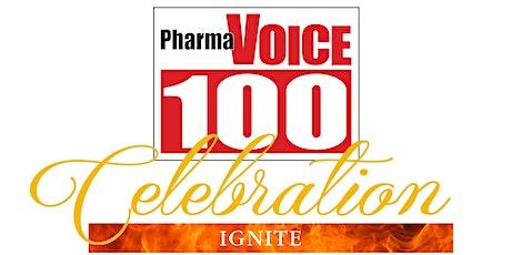 PharmaVOICE 100 Celebration IGNITE Virtual Event - produced by PharmaVOICE tickets