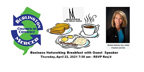Business Networking Breakfast w/Guest Speaker (In-Person Event) tickets