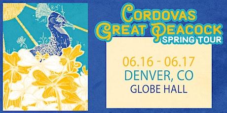 Cordovas / Great Peacock -- Night 2 tickets