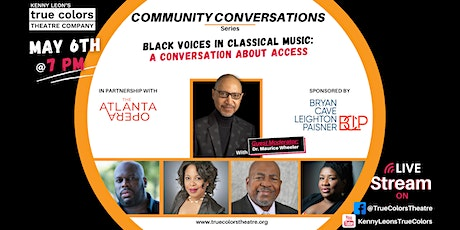 Black Voices in Classical Music: A Conversation About Access tickets