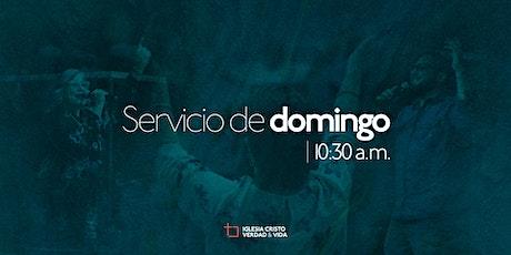 Iglesia Cristo Verdad y Vida - Servicio de domingo boletos