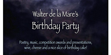 Walter de la Mare's Birthday Party tickets