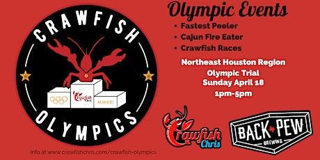 2021 Crawfish Olympics NORTHEAST HOUSTON tickets