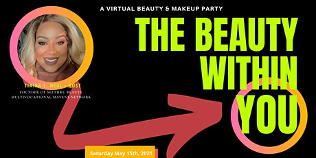 Virtual Makeup Party: The Beauty Within You tickets
