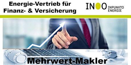 Energievertrieb für Finanz- & Versicherungsmakler Tickets
