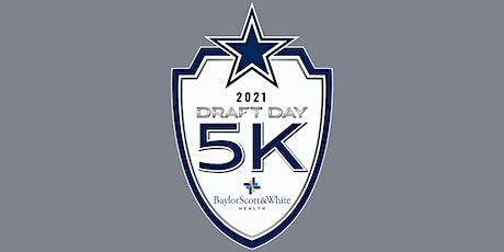 Dallas Cowboys Draft Day 5K (Virtual) - 2021 tickets