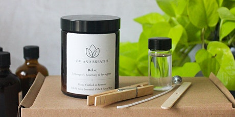 Aromatherapy Candle Making Class tickets
