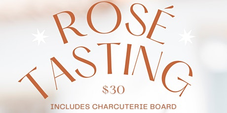 Spring Event: Rosé & Charcuterie Pairing at Southern Charred tickets