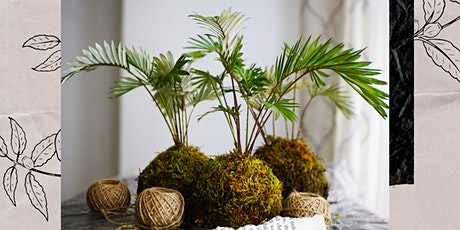 1991greenery Kokedama Virtual Workshop tickets