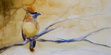 Bird Watercolor Painting for Beginners tickets