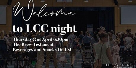 Welcome to LCC Night tickets
