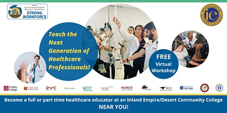 Teach the Next Generation of Healthcare Professionals! tickets