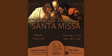2º Domingo da Páscoa | Santa Missa, Domingo, 10h ingressos
