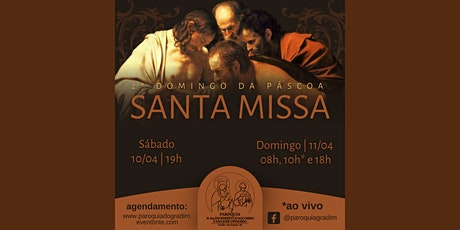 Domingo da Misericórdia | Santa Missa, Domingo, 18 ingressos