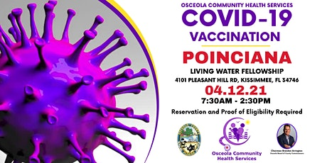 Poinciana Covid-19 Vaccination Event tickets