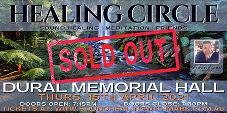 Healing Circle: Sound Healing with Mark | (Dural Memorial Hall) tickets