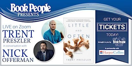 BookPeople  & Harper Collins Present: Trent Preszler and Nick Offerman tickets