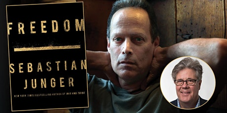 Virtual Author Event - SEBASTIAN JUNGER in conversation with DAVID MARANISS tickets