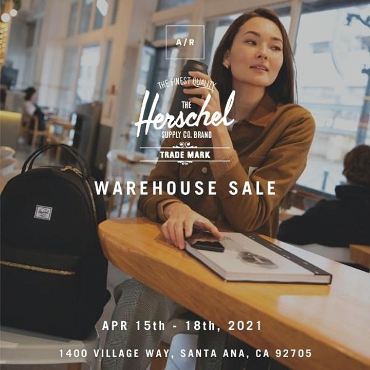 Herschel Supply Warehouse Sale - Santa Ana, CA image