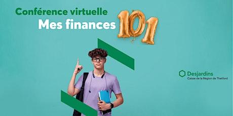 Conférence – Mes finances 101 billets