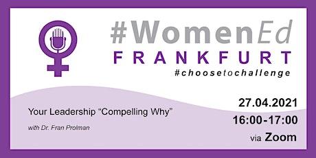 WomenEdDE Frankfurt Region Workshop with Fran Prolman  Session 1 tickets