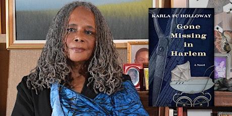 Karla Holloway | Gone Missing in Harlem Tickets