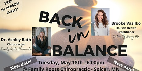 Back in Balance: Holistic Health Event tickets