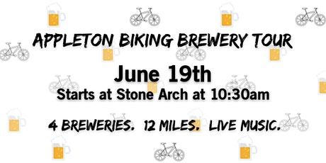 Appleton Biking Brewery Tour tickets