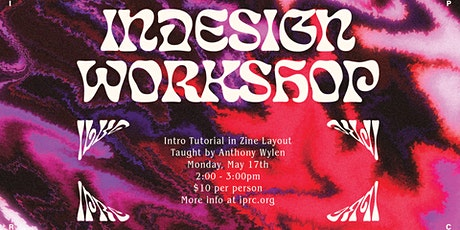 May Intro InDesign Tutorial tickets