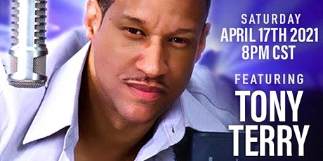 Virtual Music Concert & BDAY Party for April & Alice. Featuring Tony Terry tickets
